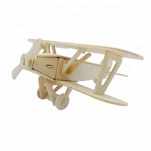 Wincent Transportation Series Airplane A 3D Wood Puzzle Model