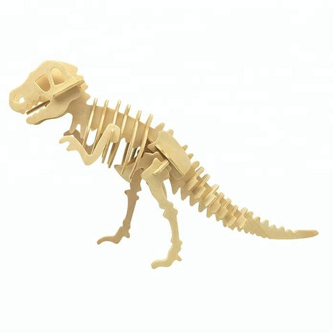 Wincent Dinosaur Series T-Rex 3D Wood Puzzle Model
