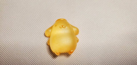 Pudding dog pompompurin resin
