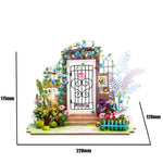 Robotime DIY Mini Dollhouse Building Model Home Decoration toys Garden Entrance DGM02