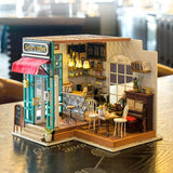 DIY Dollhouse Kit-Simon's Coffee NEW ARRIVAL DG109
