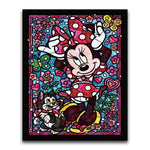 5D DIY Diamond Painting STAR003(L) Minnie Mouse Diamond embroidery Cross stitch Cartoon