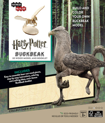 IncrediBuilds Harry Potter Buckbeak 3D Wood Model and Booklet