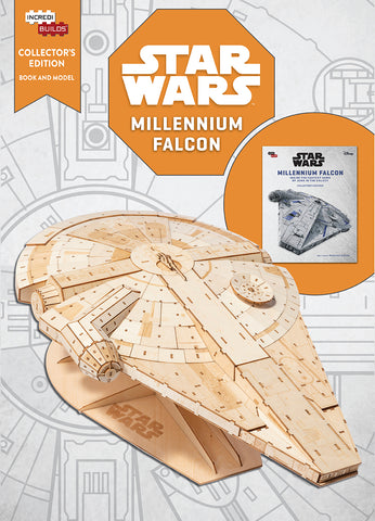 IncrediBuilds Star Wars Millenium Falcon Collector's Edition Book and Model