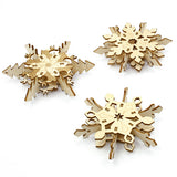 IncrediBuilds Holiday Collection Snowflakes 3D Wood Model
