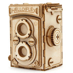 IncrediBuilds Hobby Collection Vintage Camera 3D Wood Model