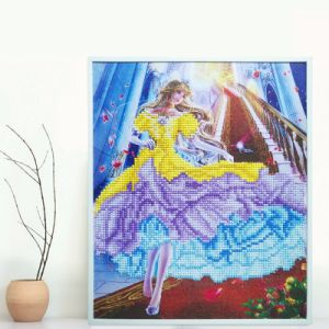 5D Fashion DIY Diamond Painting K124 Cinderella