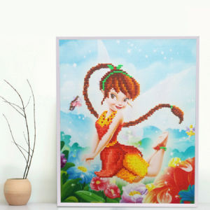 5D Fashion DIY Diamond Painting K117 Fairy