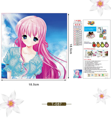 5D Fashion DIY Diamond Painting cutiepop T-087