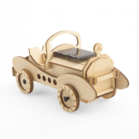 Wincent Solar Energy Series Solar Car 3D Wood Puzzle Model