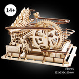 Magic Crush - Marble Run Model Building Kits - Waterwheel coaster LG501