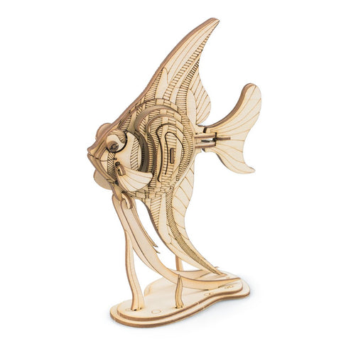 Modern 3D Wooden Puzzle-Sea animals TG273 Angel Fish