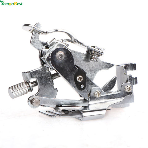 1Pcs Domestic Presser Foot Ruffler Sewing Machine Presser Foot Ruffler Foot Presser Feet For All Low Shank Singer Janome Brother
