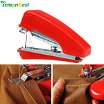 Handheld Mini Sewing Machine Manual Portable Home Travel Small DIY Needlework Cordless Machine Cloth Fabric Stitch Accessorie