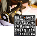 45Pcs Domestic Sewing Machine Presser Foot Feet Kit Set With Box For Brother Singer