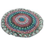 Round Bohemian Hippie Tapestry Beach Picnic Throw Yoga Mat Towel Blanket
