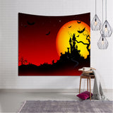 Halloween Beach Cover Up Tunic Tapestry Wallhaning Roomdorm Home Decor