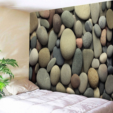 Cobblestone Beach Towel Cover Up Tunic Tapestry Tablecloth Home Décor