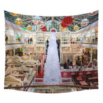 Christmas Beach Cover Up Tunic Tapestry Wall haning Roomdorm Home Decor