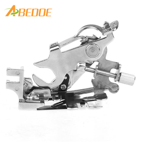 ABEDOE Ruffler Presser Foot Feet Sewing Machine Attachment Accessory for All Low Shank Singer Janome Brother