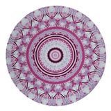 Floral Print Round Beach Towel Bath Summer Women Swimming Sunbath Blanket