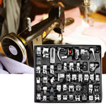 48pcs Sewing Machine Presser Foot Set Hem Foot Spare Parts Accessories for Brother Singer