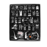 36Pcs Domestic Sewing Machine Presser Foot Feet Kit Set Hem Foot Spare Parts With Retail Box For Brother Singer Janom