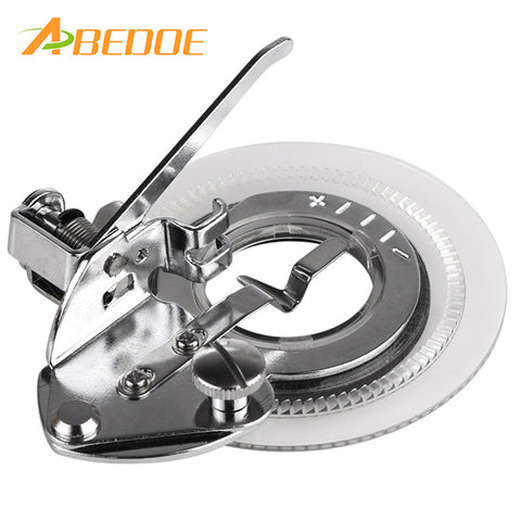 ABEDOE Daisy Flower Stitch Sewing Machine Presser Foot for All Low Shank Singer Janome Brother Flower Stitch crochet