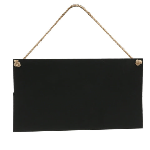 26 x 14cm Erasable Rectangle Chalkboards Blackboards display for Message Board Sign
