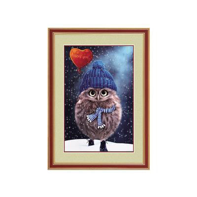 DIY Full Diamond Embroidery Owl 3D Mosaic Diamond Painting