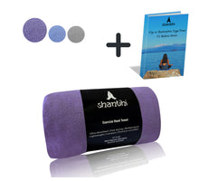 Load image into Gallery viewer, Shantihi Exercise Hand Towel Purple