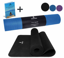 Load image into Gallery viewer, Shantihi Eco Yoga Mat Black