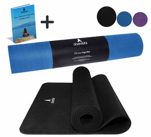 Shantihi Eco Yoga Mat Black