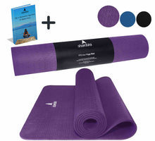 Load image into Gallery viewer, Shantihi Eco Yoga Mat Dark Purple