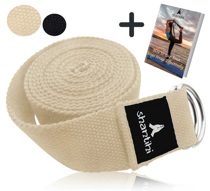 Shantihi Yoga Strap Cream