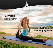 Load image into Gallery viewer, Shantihi Yoga Strap Cream