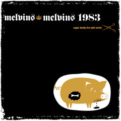 Melvins - Sugar Daddy Splits vol. 11  w/Melvins 1983 ***METALLIC GOLD PIG COVER***