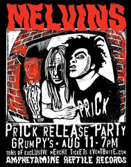"Melvins: Prick Release Party"" AP silkscreen print"