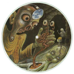 "Mama Tick- AmRep ""Research & Development"" Series picture disc 7"""