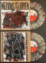"MELVINS/FLIPPER: HOT FISH -10"" EP *PIRANHA SPLATTER EDITION*"