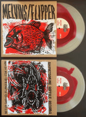 "MELVINS/FLIPPER: HOT FISH -10"" EP *BLOOD IN THE WATER EDITION*"