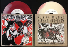 Melvins & Hepa/Titus: How Chow Now Dead Cow? 7""