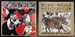 "Melvins & Hepa/Titus: How Chow Now Dead Cow? 7""  ***TOUR EDITION***"