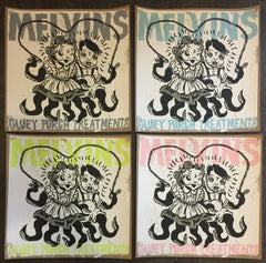 "Melvins ""Gluey Porch Treatments"" silkscreen print SET of 4"