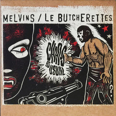 Melvins/Le Butcherettes: Chaos As Usual CD