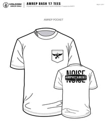 OFFICIAL AMREP White Pocket T-Shirt