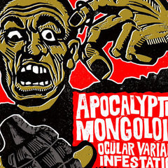 Apocalyptic Mongoloid Oct. 1st Show Poster