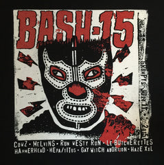 "Official ""BASH 15"" T-shirt + BASH PACK"