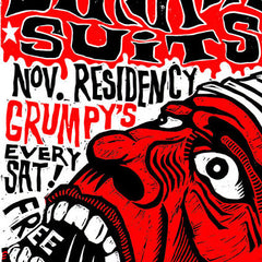Birthday Suits November 2011 Residency Poster