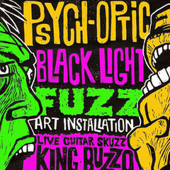 Psych-Optic Black Light Fuzz Poster